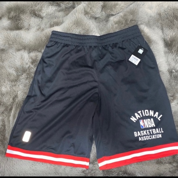 Men's authentic NBA practice shorts